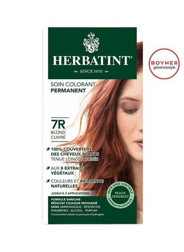 Herbatint Herbatint 7R Blond Cuivre  Saç Boyası Renksiz
